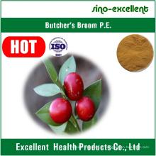Extracto de raiz de vassoura com Ruscogeninas naturais
