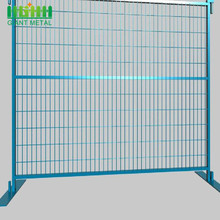 High Standard Galvanized Steel Safety Canada Temporary Fence