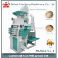 machine automatique de moulin de riz de moteur à la maison en Chine