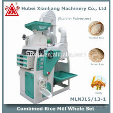 machine automatique de moulin de riz de moteur à la maison en Chine