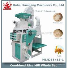 домашний автоматический двигатель риса машины мельницы в Китае
