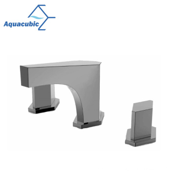 New Design Cupc Certified Three Hole Basin Faucet
