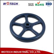 Soem-Pulver-Beschichtungs-Oberflächenbehandlungs-Sand-Casting-Eisen-Handrad