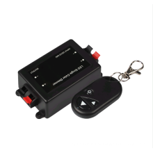 DC12-24V 8A 3 teclas de control remoto de un solo color inalámbrico Controlador de RF LED Dimmer para la luz de tira del LED