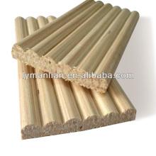 moulings de madeira de pinho