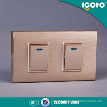 Igoto New South America Material para PCs 1/2/3/4 Gang Wall Switches