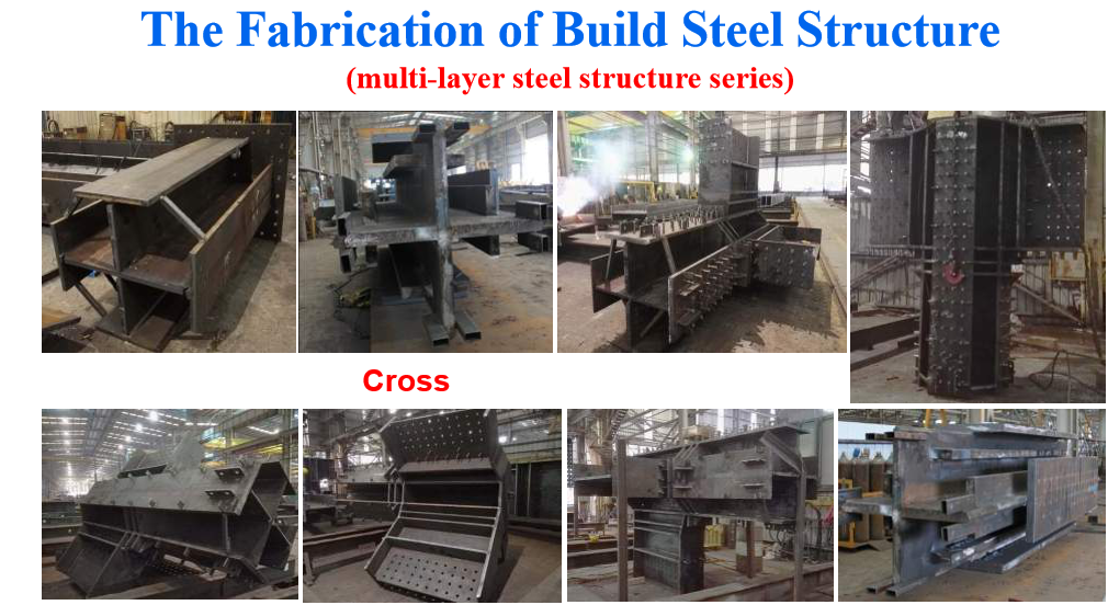 the fabrication of building steel structure three