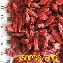 350 grains / 50g de baies de Goji rouges