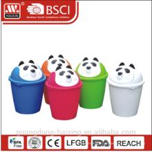 Hot-sell panda garbage bin