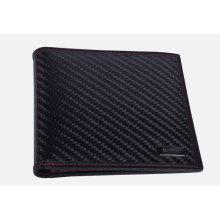 Carbon fiber short shape wallet