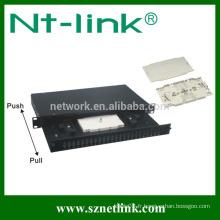Panneau de raccordement Netlink 24 cores F / O avec adaptateur ST / FC / SC
