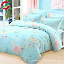 beautiful star and moon printed bed sheet duvet cover set