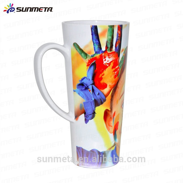 17oz Plastic sublimation conical mug
