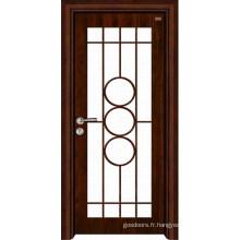 Porte intérieure en bois (LTS-201)