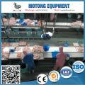 alta e eficiente frango abate de linha de corte máquina de corte de venda para o Sudão