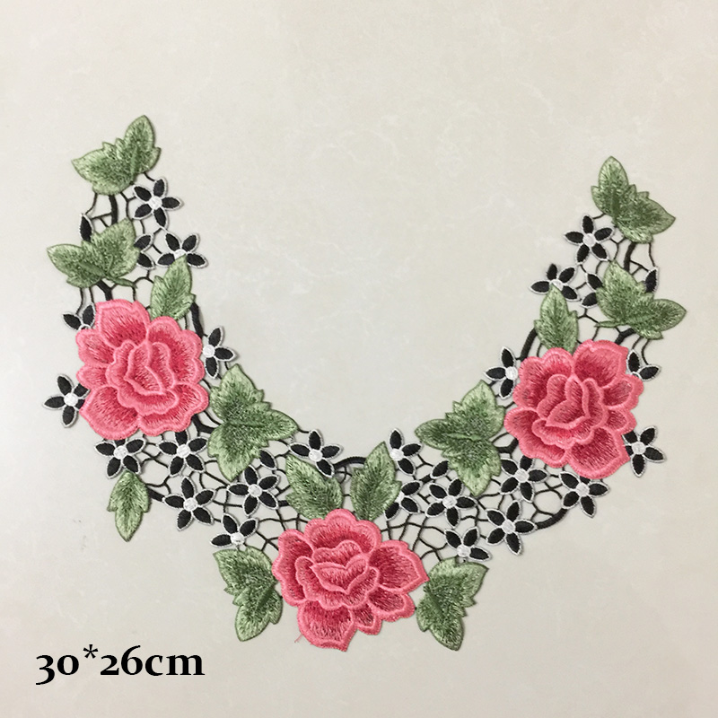embroidery collar patch