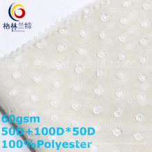 Polyester Chiffon Jacquard Fabric for Woman Textile (GLLML341)