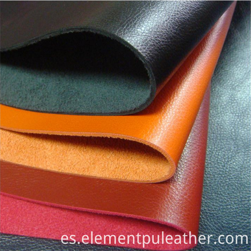 Shoes Making Material PU Synthetic Leather