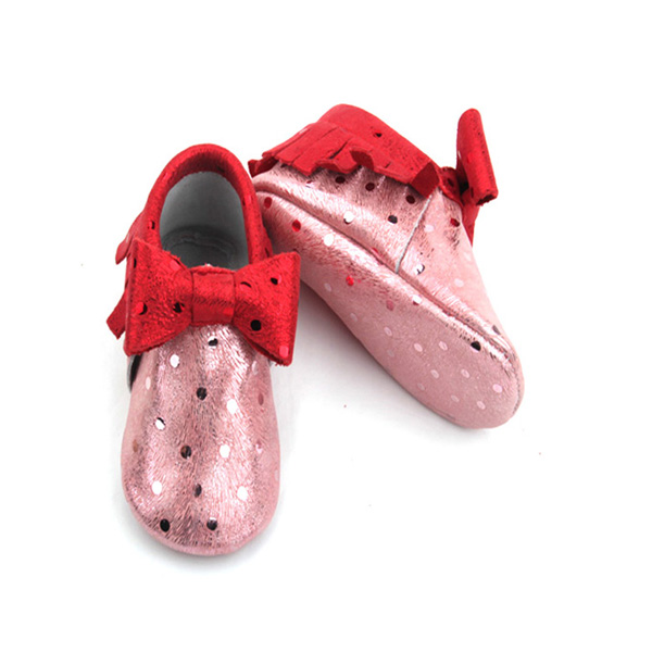 Bling Bling Fashion Bow bébé filles mocassins