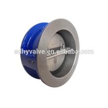 чугунной вафли типа двойной плита/диск обратный клапан