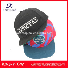 2015 personalizado OEM impressão promocional áfrica continente snapback chapéu