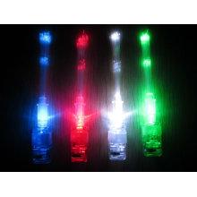 luz mais fina conduzida da fibra óptica