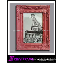 antique classic carving narrow frame picture frame mini hanging