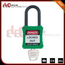 Short Nylon Shackle Safety Padlock with Ka, Kd, Mk System