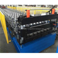 Metal IBR Trapezoidal Roof Sheet Roll Forming Machine