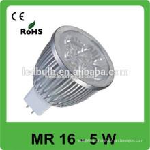 MR16 LED spot bulbo de iluminação, alumínio levou spot lâmpadas
