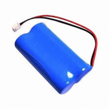 Lithium Ion Rechargeable Battery Pack 1,4500 7.4V 800mAh