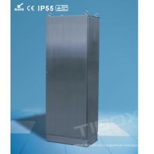 Gabinete de una pieza de aluminio del piso