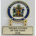 Metal Pin Badge with Different Hanger as Name Plate (badge-211)