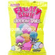 Sac en plastique d'emballage de sucrerie / sac doux doux / sac de fil de sucrerie / sac de sucrerie de coton