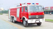 DONGFENG 6 x 4 pumper आग ट्रक