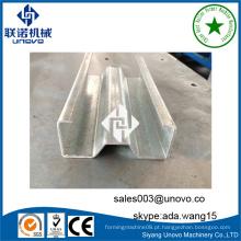 Fabricante profissional de perfis sigma de aço