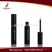 newest design high quality eyeliner bottle with aluminum brush cap