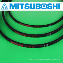 Mitsuboshi Belting durable industrial V and wedge belts with large V belt pulley also available. Made in Japan