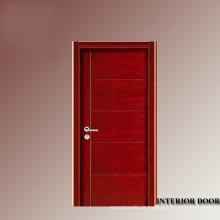 Portas de madeira teca de burma de decoração interior da porta de madeira