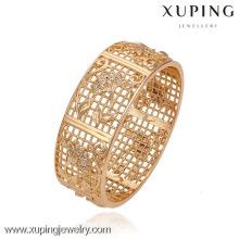 51241 -Xuping jóias moda mulher pulseira com ouro 18k chapeado