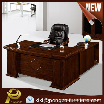 Top quality water proof modern wooden executive office desk with storage