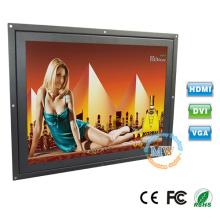 Abra o quadro 15 polegadas tft monitor lcd com entrada VGA