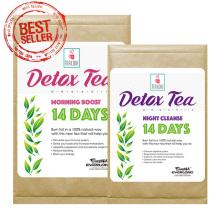 100% chá de desintoxicação de ervas orgânicas chá magro chá de perda de peso (programa de 14 dias)