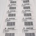 Código de barras y etiquetas de envío Uso de etiquetas de envío de paquetes