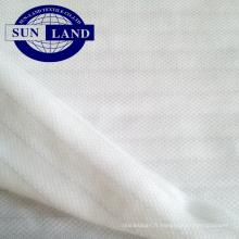 tissus simples piqués antistatiques de polyester pour le tissu d'atelier