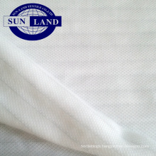 polyester anti-static single pique fabrics for factory workshop cloth
