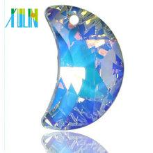 Forme las gotas pendientes cristalinas chispeantes para hacer joyería