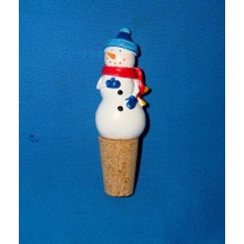 Christmas Decorative Snowman Bottle Stoppers