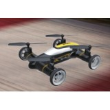 2.4G 4ch Quadcopter flying car without camera