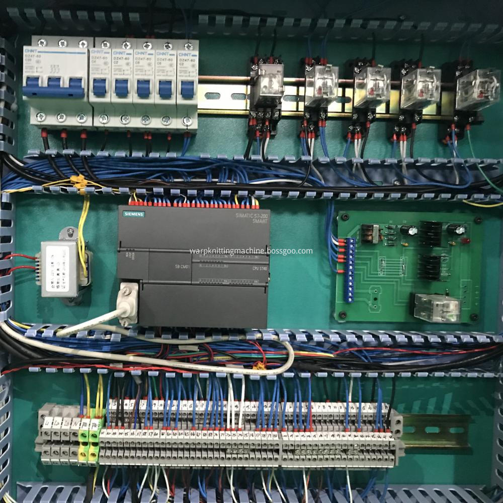 Warping Machine Electrial Part 3